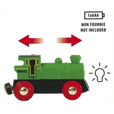 BRIO - World Lokomotywa na Baterie Zielona