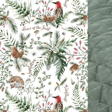 La Millou - Koc/Narzuta dla Dorosłych Velvet Collection 140x200cm Rorest Khaki