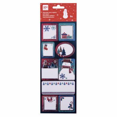 Apli Kids - Etykiety Świąteczne Zima