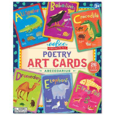 Eeboo - Karty Do Nauki Języka Angielskieo Art Cards Poetry