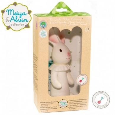 Meiya & Alvin - Havah Bunny Organic Rubber Squeaker