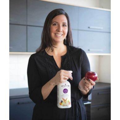 Attitude - Płyn do Mycia Owoców i Warzyw Bezzapachowy 800 ml