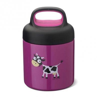 Carl Oscar -  Temp Lunch Jar Termos ze Szlachetnej Stali Nierdzewnej Purple Cow