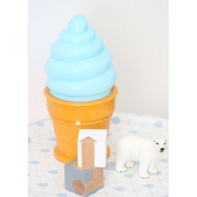 Petit Monkey - Lampka Ice Cream Blue