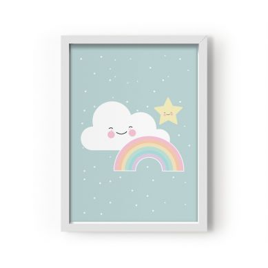 Eef Lillemor - Plakat Rainbow