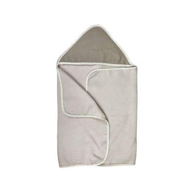 Muzpony - Duży Ręcznik Kąpielowy z Kapturem Toupe 140x70 cm