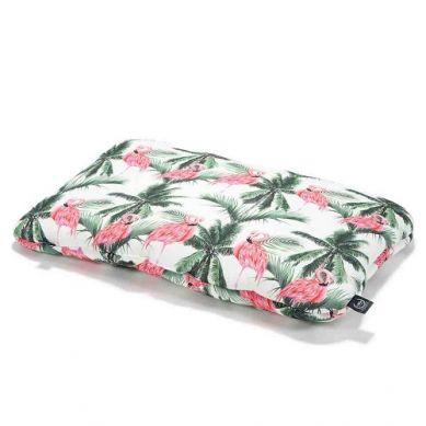 La Millou - Bambudowa Poduszka do Łóżeczka 40x60 Aruba's Pink Flamingos