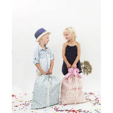 Fresk - Torba na zabawki Kropelki Pink