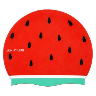 Sunnylife - Czepek do Pływania Watermelon 3+