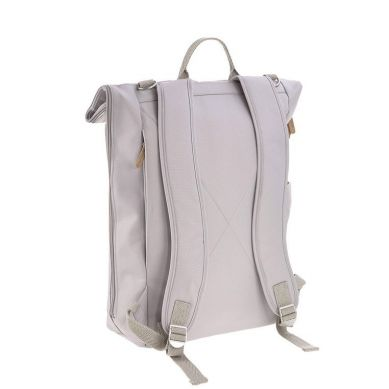 Lassig - Green Label Plecak dla mam z akcesoriami Rolltop Backpack Grey