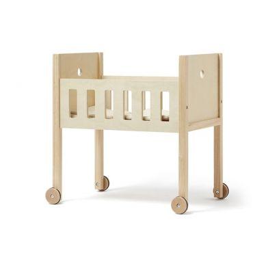 Kids Concept - Łóżeczko dla Lalek z Pościelą