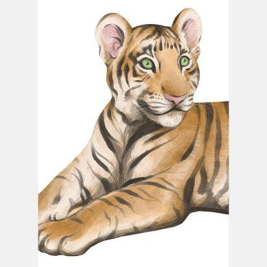 Pastelowelove - Plakat Tygrys 50x70 cm
