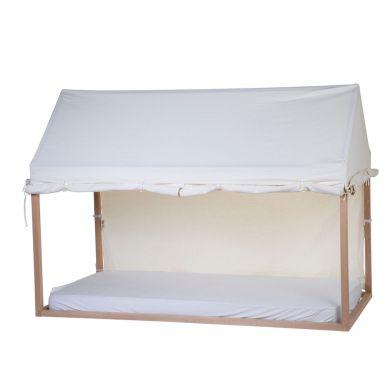 Childhome - Pokrowiec do Ramy Tipi Domek 90 x 200 cm White