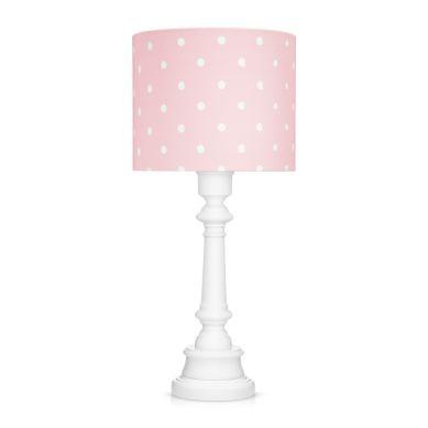 Lamps&co. - Lampa Stojąca Lovely Dots Pink ze Ściemniaczem