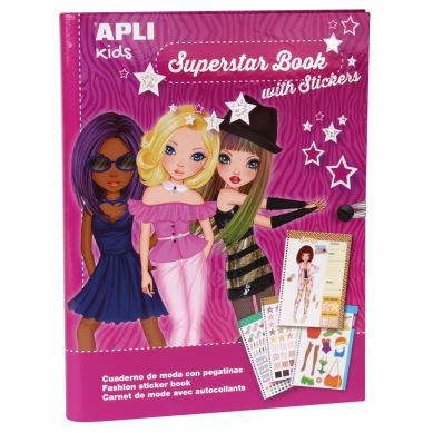 Apli Kids - Książka do Projektowania Mody Superstar