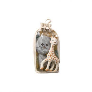 Vulli - Żyrafa Sophie z Pluszową Maskotką Kot Lazar