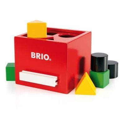 BRIO - Drewniany Sorter Kształtów Retro