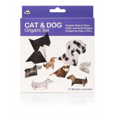 NPW ROW - Zestaw Origami Cat & Dog