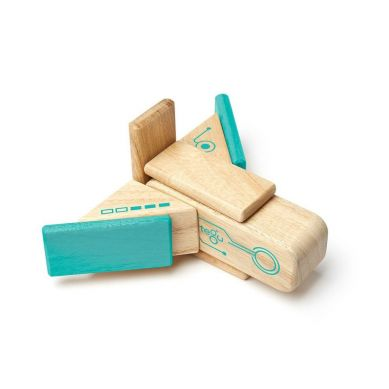 Tegu - Drewniane Klocki Magnetyczne Future Line Robo