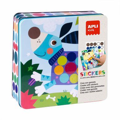 Apli Kids - Zestaw Kreatywny z Naklejkami Piesek