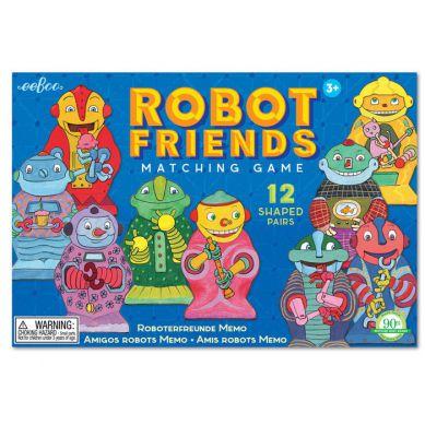 Eeboo - Gra Memo Robot Friends