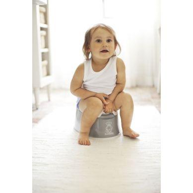 Babybjorn - Nocnik Smart Srebrny