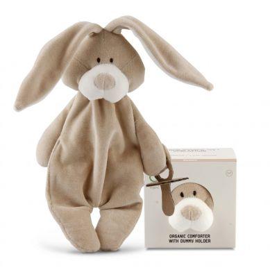 Wooly Organic - Strażnik Smoczka Classic Bunny Zajączek 26cm