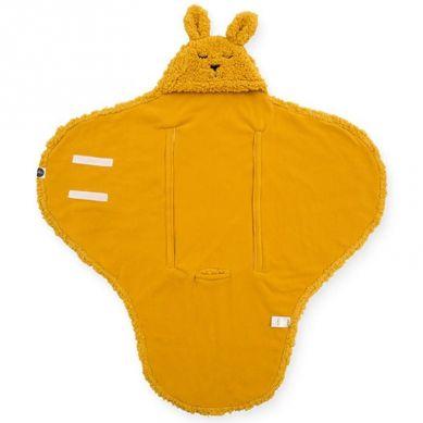 Jollein - Śpiworek Otulacz do Fotelika i Wózka Bunny Mustard