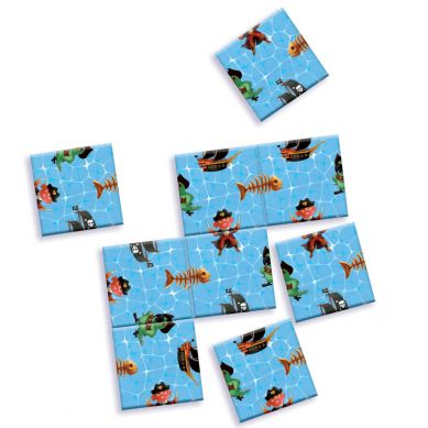 Djeco - Mini Puzzle Piraci