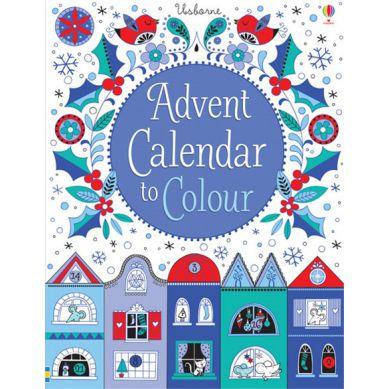 Wydawnictwo Usborne Publishing - Advent Calendar to Colour