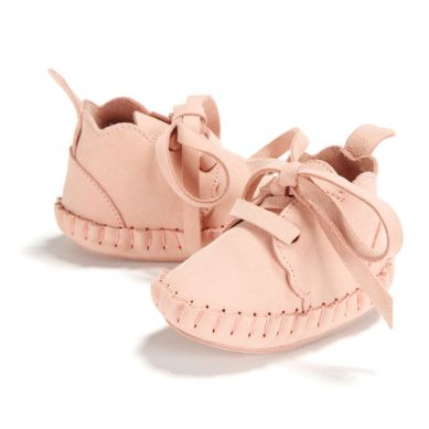La Millou - Buciki dla Niemowlaka Cloudy Moonie's Candy Pink S