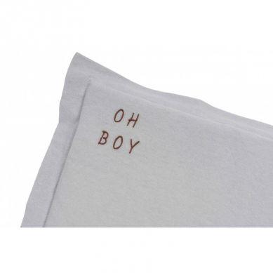 Malomi Kids - Poduszka Oh Boy Washed Grey S