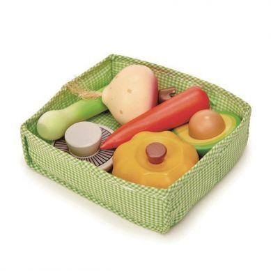 Tender Leaf Toys - Skrzynka z Warzywami 3+