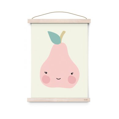 Eef Lillemor - Plakat Fresh Fruit Pear