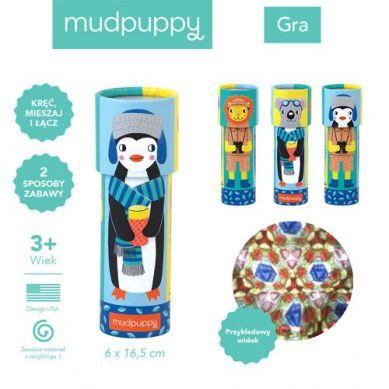 Mudpuppy - Kalejdoskop Mix&Match Zwierzęta Świata 3+