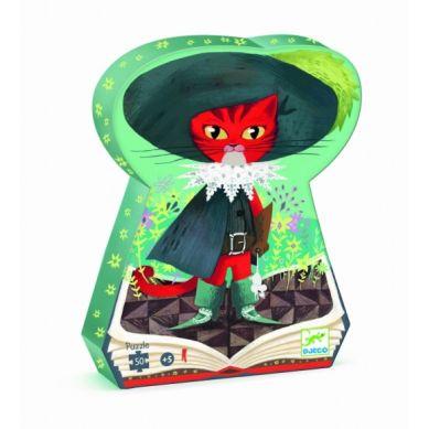 Djeco - Puzzle 50el. Kot w Butach