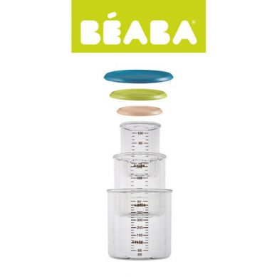 Beaba - Zestaw 3 Słoiczków