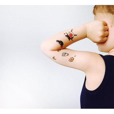 Lullalove - Zestaw Tatuaży Zmywalnych