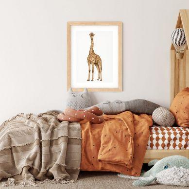 Pastelowelove - Plakat Żyrafa 30x40 cm