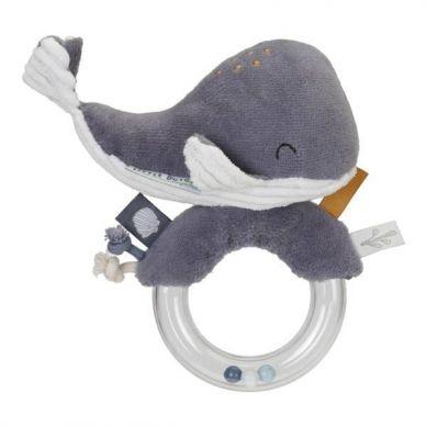 Little Dutch - Grzechotka Wieloryb Ocean Błękit