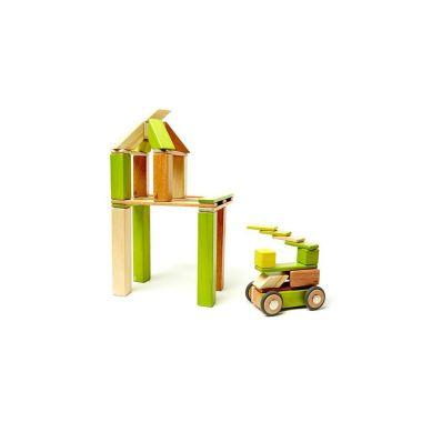 Tegu - Drewniane Klocki Magnetyczne Classics Zestaw 42szt Jungle