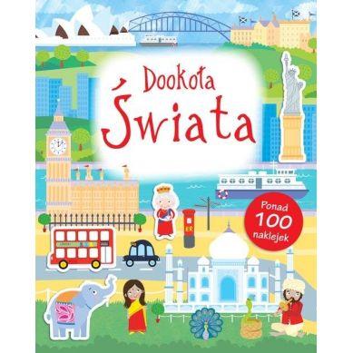 Wydawnictwo Smart Books - Dookoła Świata Poznaję Świat + Naklejki