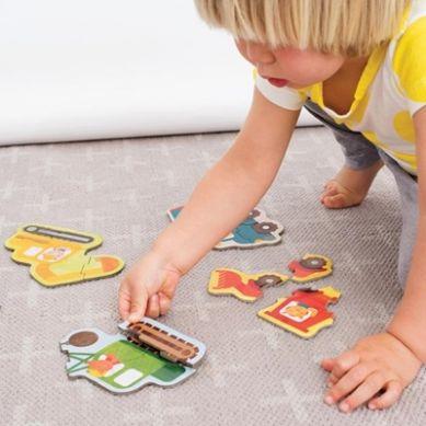 Petit Collage - Pierwsze Puzzle Konstruktor