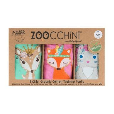 Zoocchini - Majtki Treningowe Girl 3-4 lata Princess