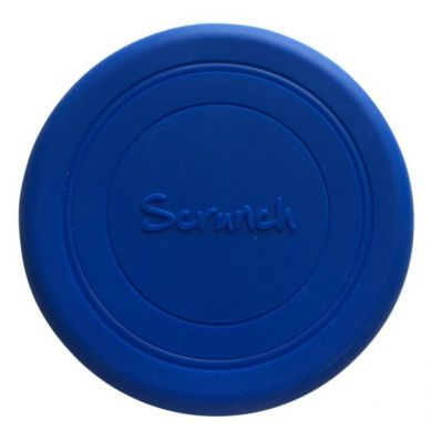 Scrunch - Zwijane Silikonowe Frisbee Granatowe