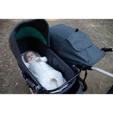 Bumbleride - Pokrowiec na Materac do Gondoli (2020) z Bawełny Organicznej Wózek Indie Twin