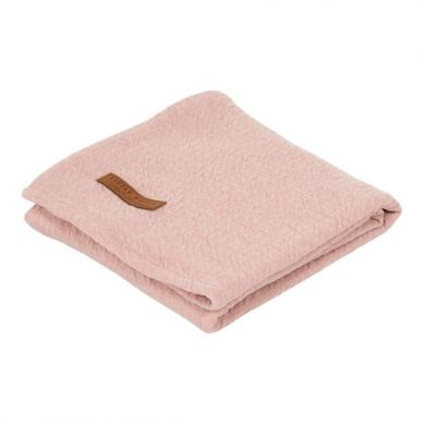 Little Dutch - Otulacz 120 x 120cm Pure Pink
