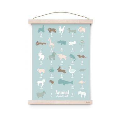 Eef Lillemor - Plakat Animal Alphabet