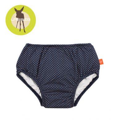 Lassig - Majteczki do Pływania z Pieluszką Polka Dots UV 50+ 24-36m