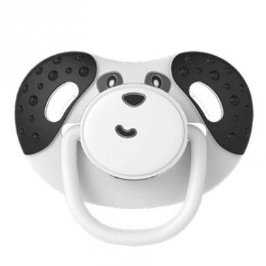 Dumforter - 3in1 Smoczek z Gryzakiem + Kocyk Przytulanka Panda Pepper